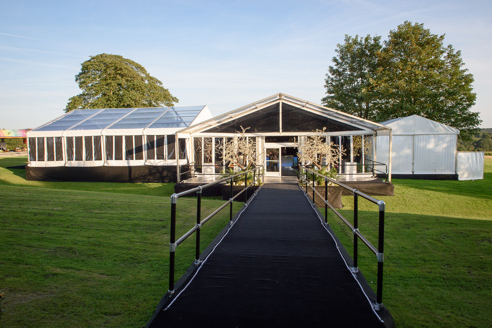 Marquee hire south of England