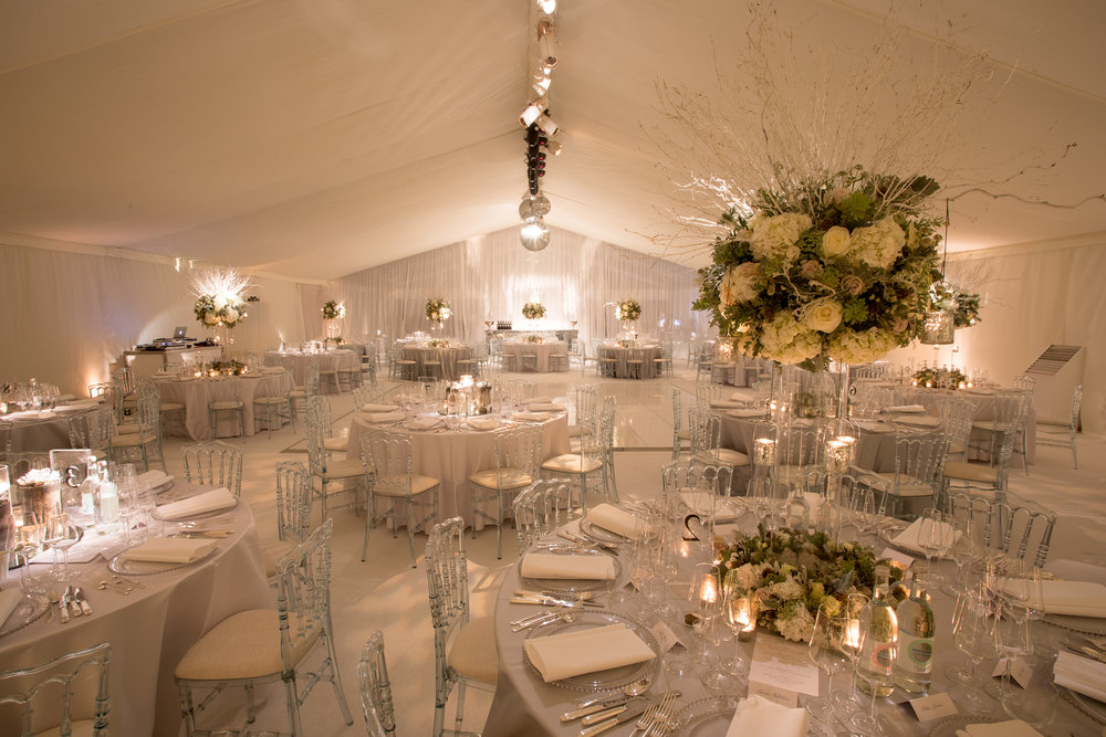 Wedding and party marquee hire