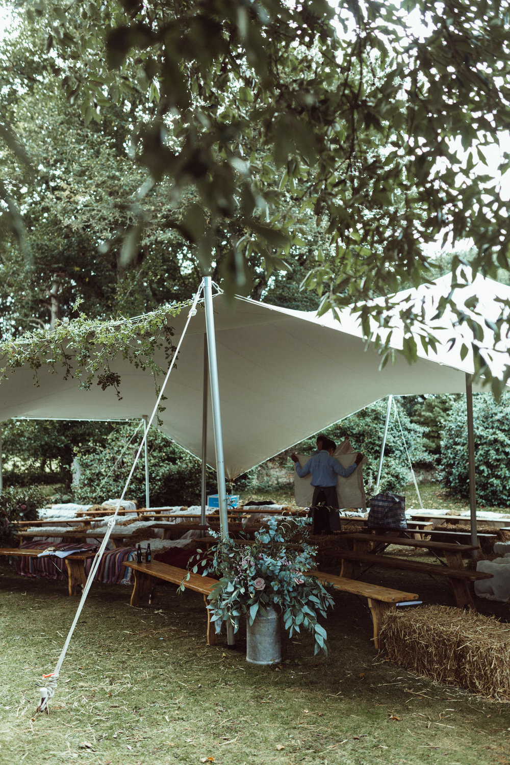 Stretch marquee hire Hampshire
