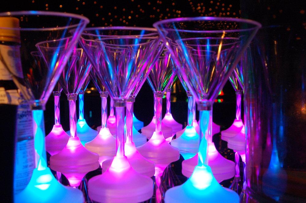 Creative wedding drinks