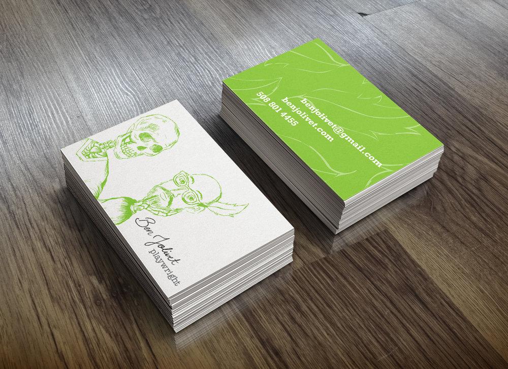 BUSINESS CARDS — Emilie Jolivet