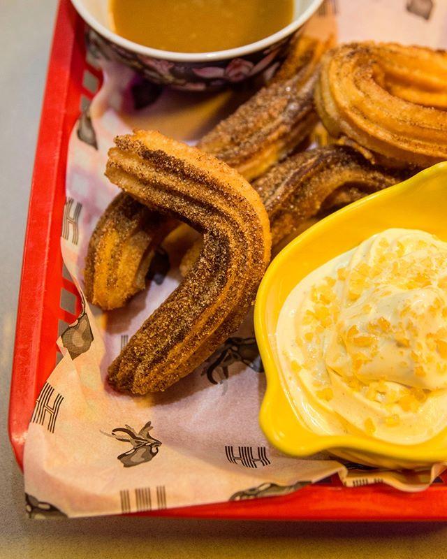 Softis med churros og karamell👌 #streetfood #hitchhiker_oslo #lavaoslo #mathallen #churros @mathallenoslo