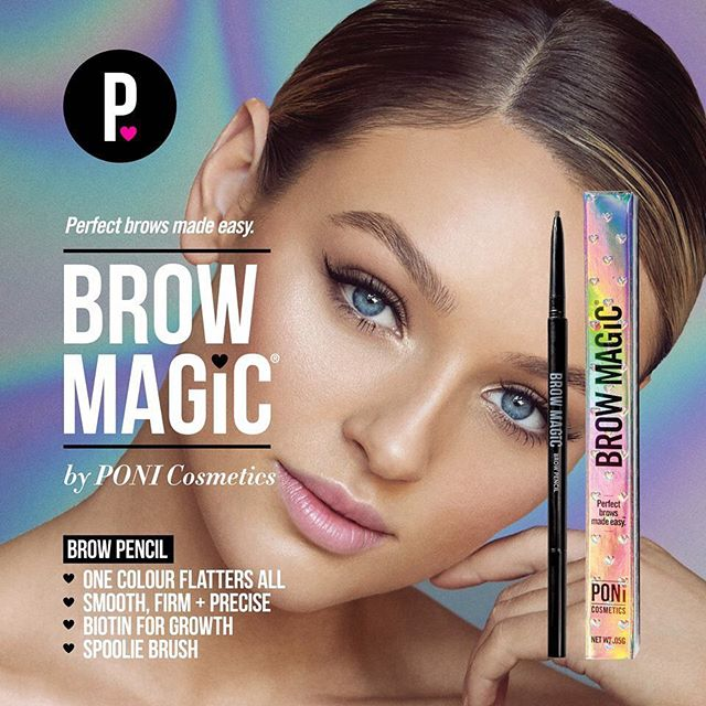 It's back in stock ! Our all time favourite universal shade brow magic ! It's always a winner ⭐️⭐️⭐️⭐️⭐️ @ponicosmetics