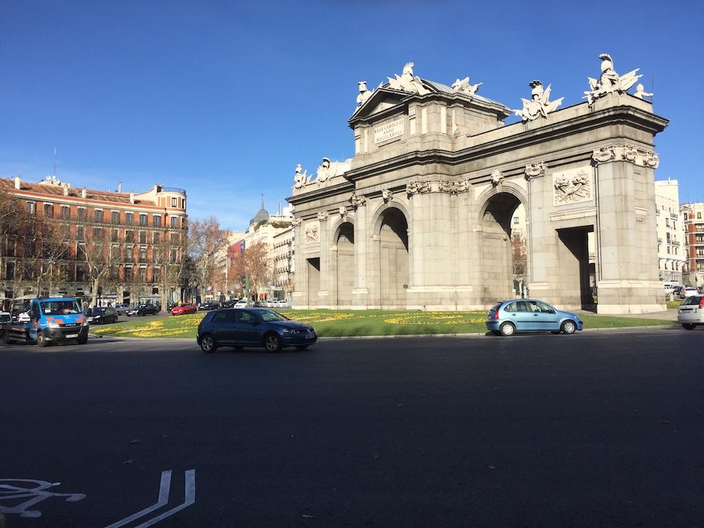 Madrid - Puerta de Alcala