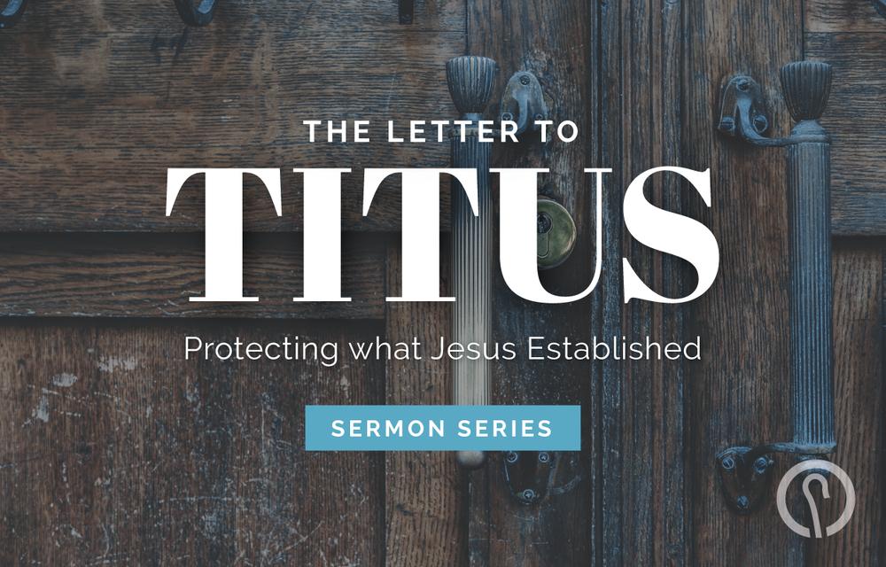 Equal Value in God's Kingdom Work - Titus 2:3-5, 9-15