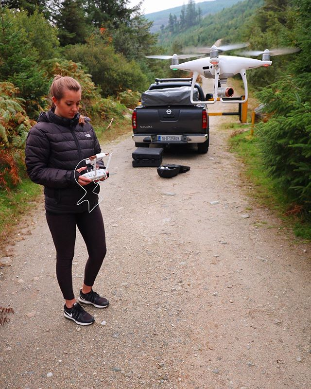 Not the best weather but great to be out exploring Wicklow all the same 🍀 • • • • • • • • • • • • • • #dronephotography #dronestagram #dronedaily #dronelife #ireland #wicklow #dji #djiphantom4 #productphotography #travelblogger #travelholic #travelguide #cameralove #aerialphotography #irish_daily #potd #naturephotography #naturelovers #nationalparks #irelandtravel #ireland_gram 🍀