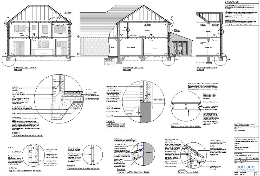 Building Regulations - Building Regulation Approval is needed for any building work done in the UK. It is a set of rules which need to be abided by in order to protect you and your building. In order to gain Approval your local preferred Building Control team must be happy with the construction of your development. Our architectural drawings will give clear instructions and details of your build. Like Planning Permission, Building Regulation approvals usually have conditions that we need to discharge. Again as consultants we will liaise with the authorities and complete your application.