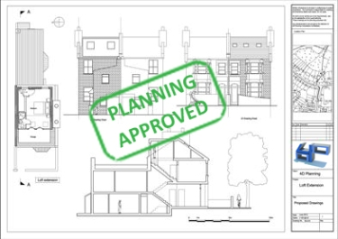 Planning Permission - When looking to build a new development, improve your property or change your buildings current use, it is likely you will need to gain Planning Permission. Planning Permission is granted through your local authority and is required in most instances listed above. In order to gain the permission certain standards and laws must be abided by. Through our wealth of experience we can tailor our architectural drawings - your proposed plans, to gain Planning Approval. We achieve this by designing to meet the requirements of your local Councils 'Local Plan'. As consultants we also liaise with the Authorities on your behalf and take care of the applications for you.