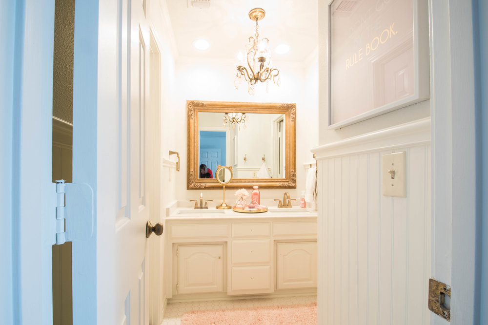 Tween Bathroom Redo [Irving Texas Interior Designer] U2014 Interiors By Erika