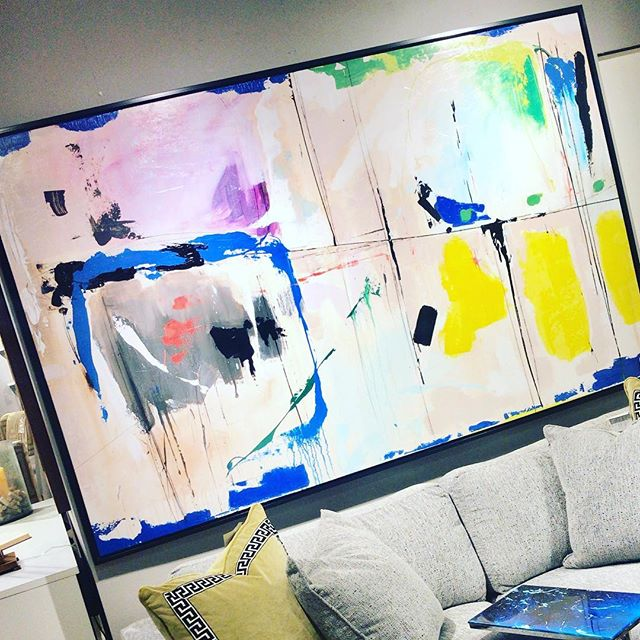 Amazing art, just installed at a client's home, the colors are stunning! . . . . . #dallasinteriordesigner #dallastx #dallasartdistrict #dallasdesigndistrict #dallasdesigner #dallasrealtor #dallashomes #homestaging #designdetails #homeinteriors #contemporarydesign #modernhome #designlovers #colleyville #grapevinetx #flowermound #southlaketx #instagramtexas  #homeaccessories #dallasmarket #dallasmarketcenter #designerhome #modelhome #homefurniture #dallaslife #hometrends #dfwrealstate #dallasrealstate #artwork #artprint