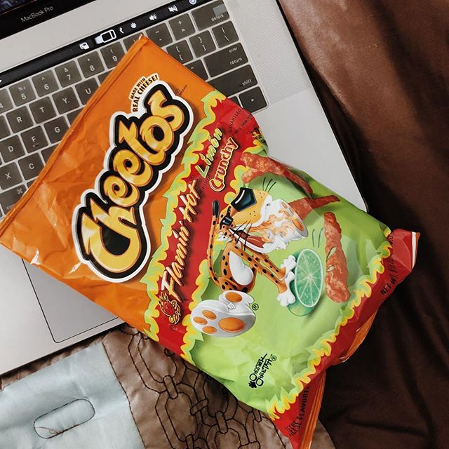 87: for absolutely the best hot cheetos  #100happydays