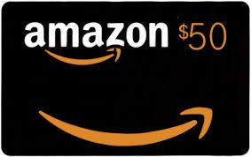 5 x vouchere Amazon în valoare de 50$