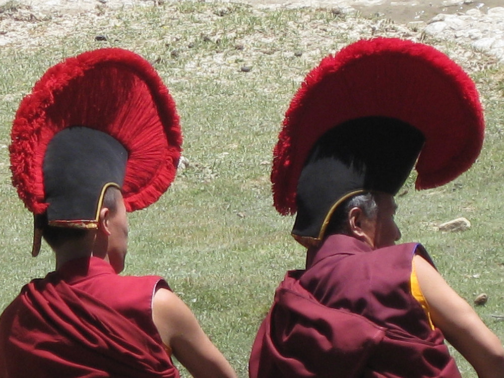 Monks at Puja-Andrea Clearfield-Mila-Opera.JPG
