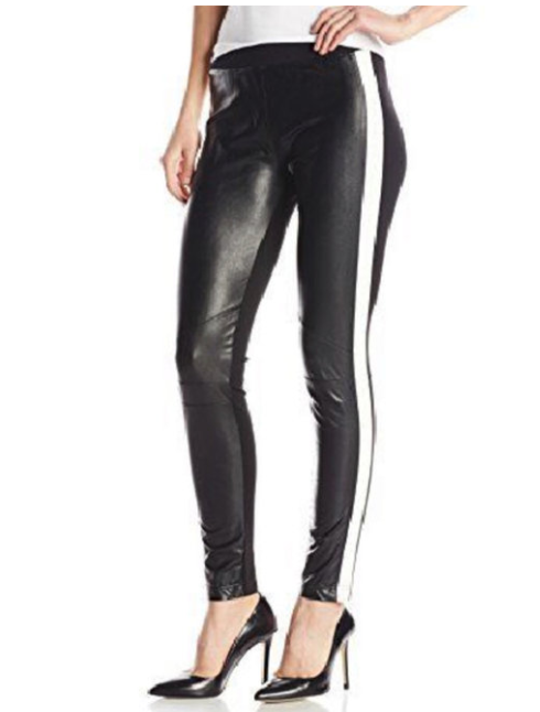 Black and White Ski Racer Jeggings