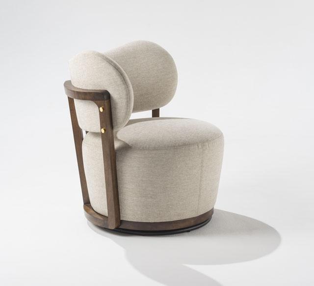 Rumba Upholstered Chair by Adriana Hoyos  Photo Source: Adriana Hoyos