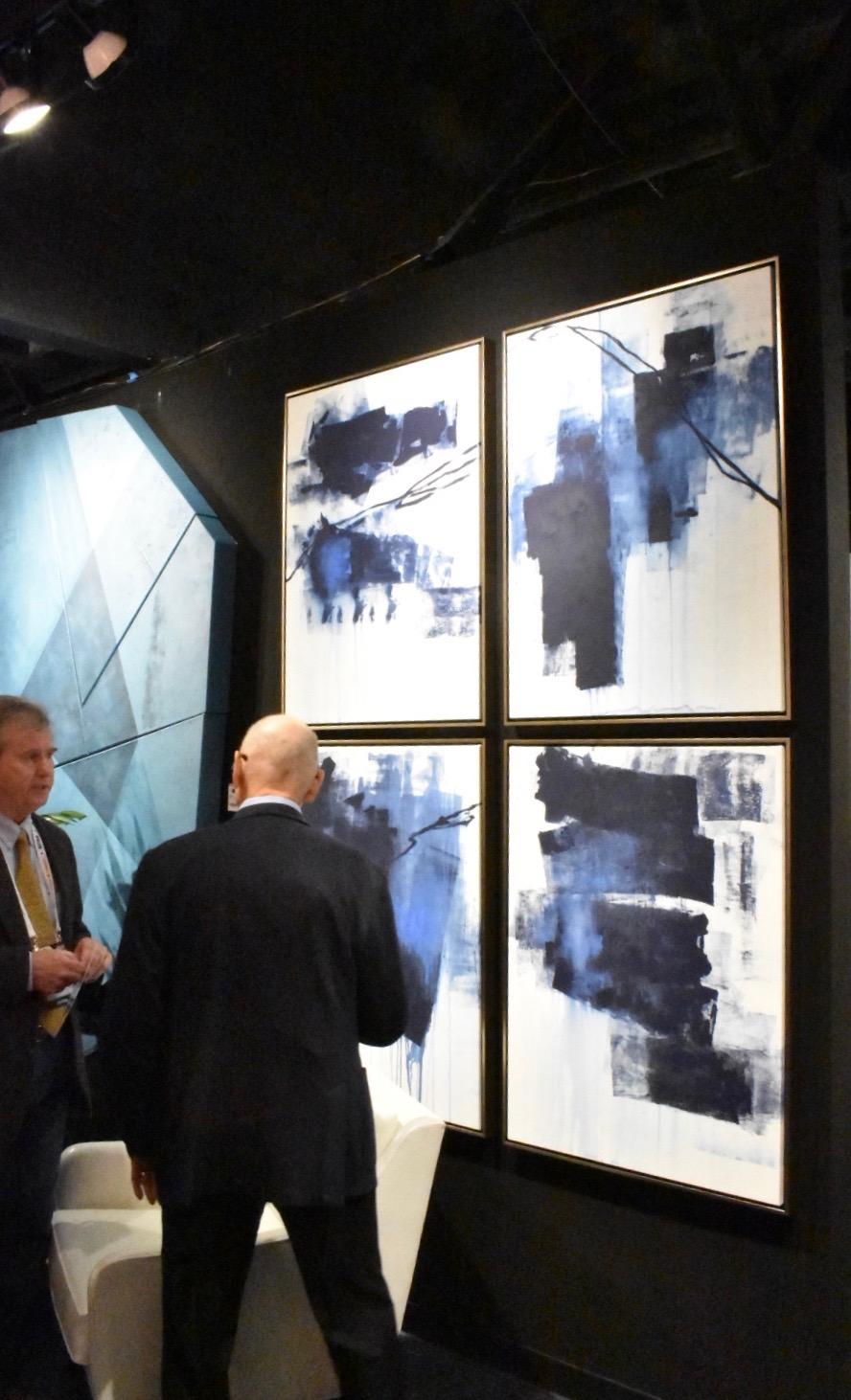 Aura of Blue -  Leftbank Art