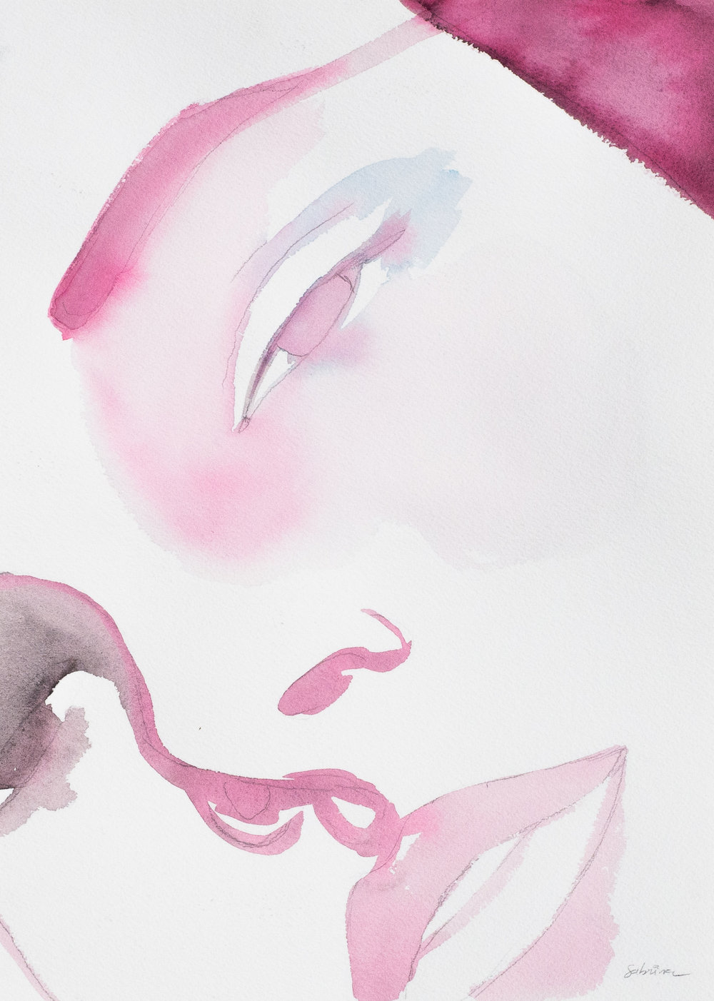 Watercolor on paper  36cm x 26cm
