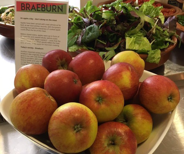 we've been showing off the beauty of British season apples