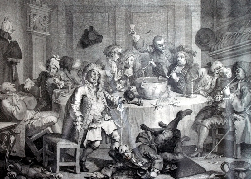 eighteenth century nobles might not eat supper until after midnight