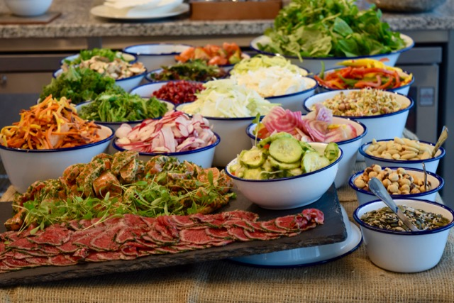 our raw bar showcases the freshest best ingredients