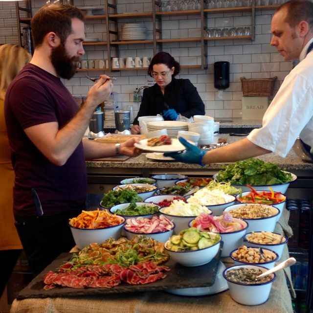 the staff of meraki taste ingredients in the raw bar