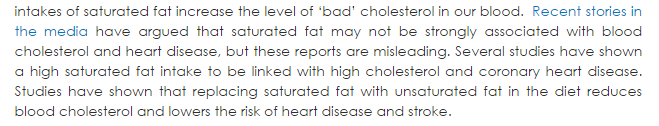 british nutrition foundation saturated fat