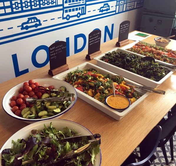we're bringing our fresh healthy food to the offices of Dropbox London