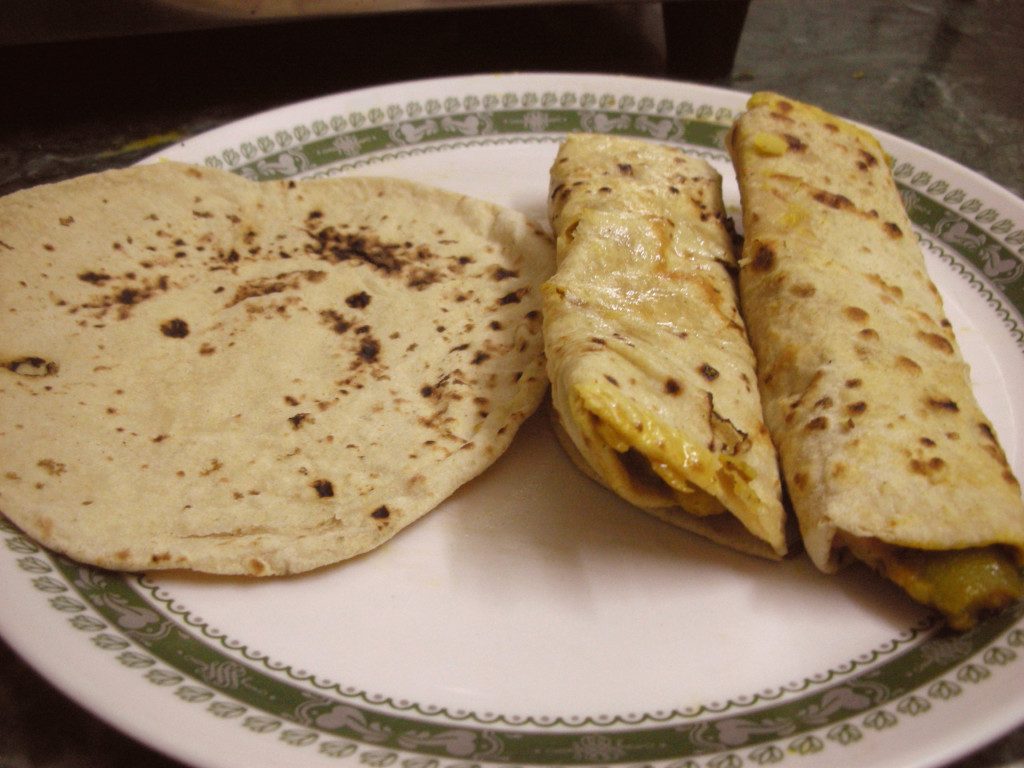 chapatis are a flat indian bread