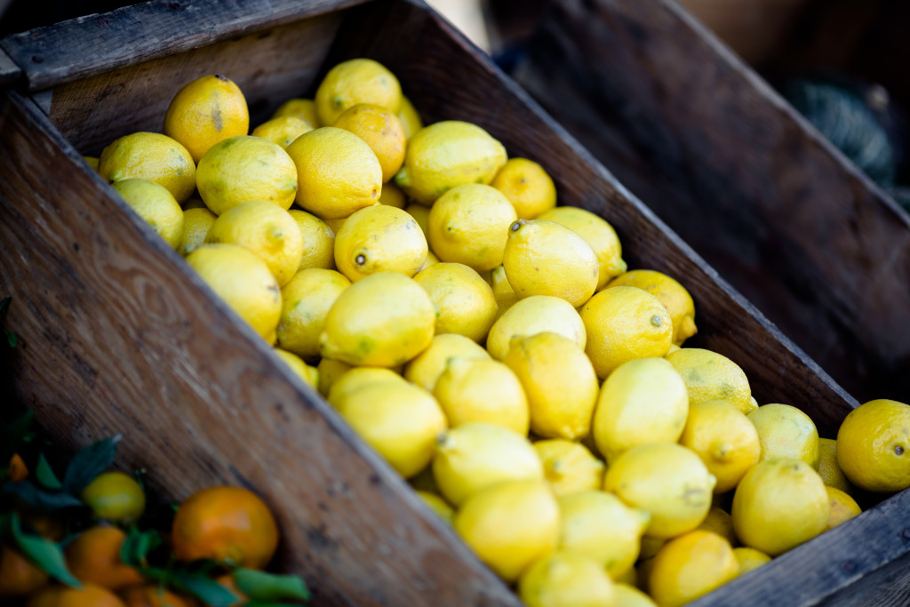 lemons provide plenty of essential vitamins and minerals