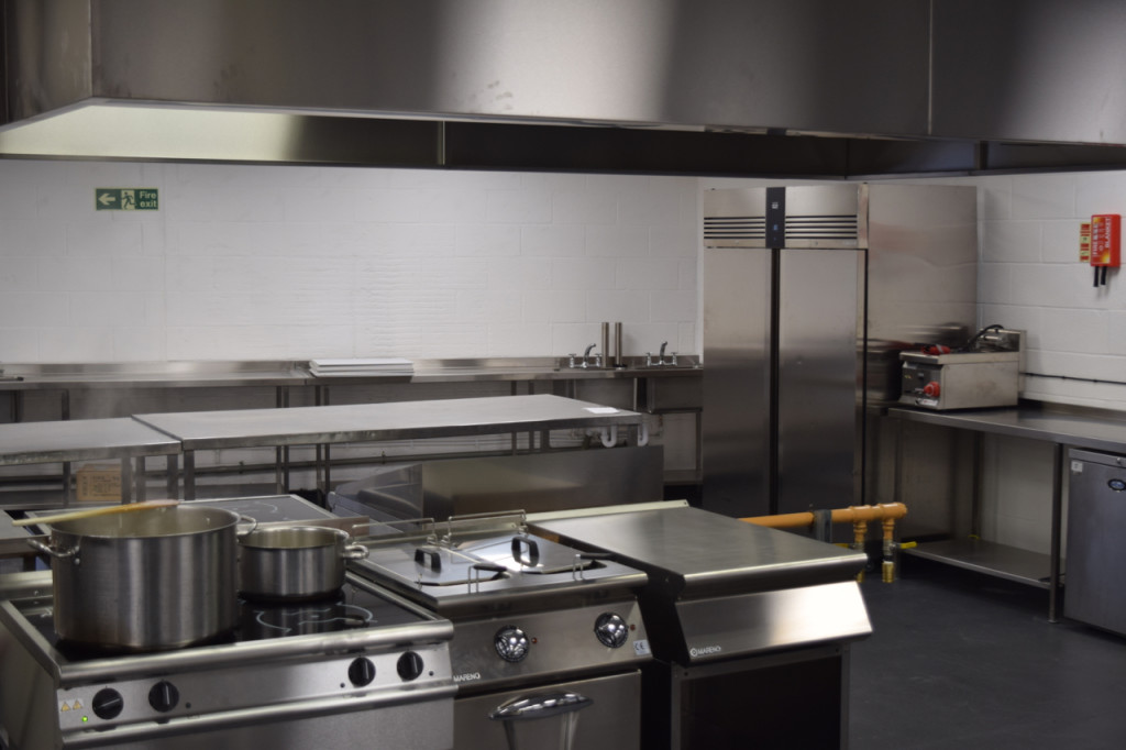 just hospitality's new production kitchen in islington