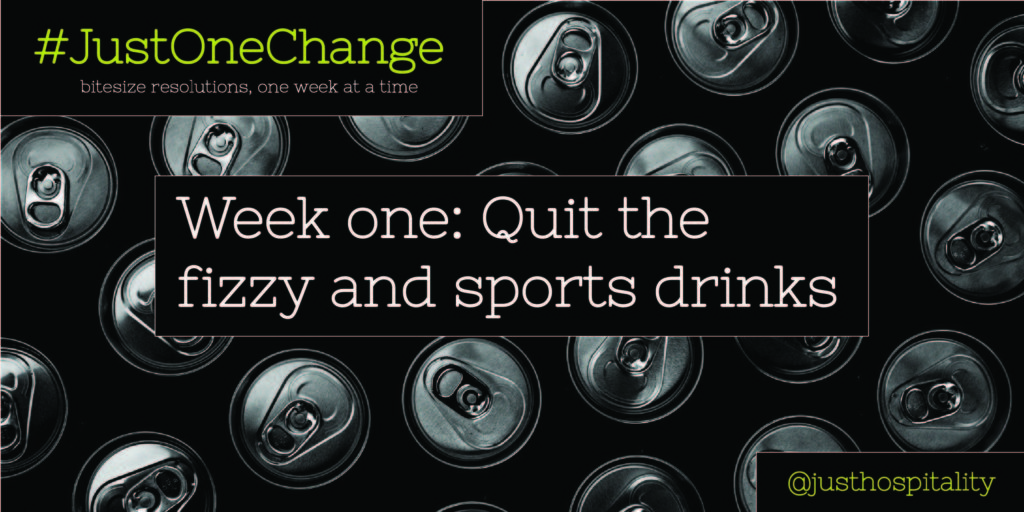 time to give up the fizzy drinks