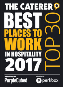 The Caterer Best Places to Work 2017 Top 30