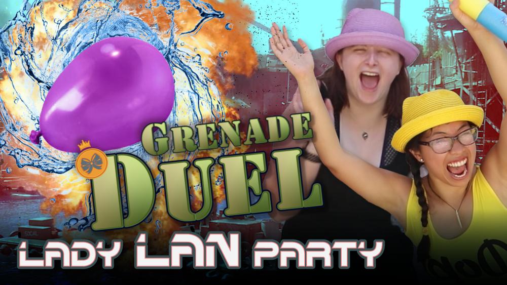 Water Wars: Grenade Duel, August 2017