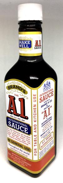 A1 Sauce 1960s