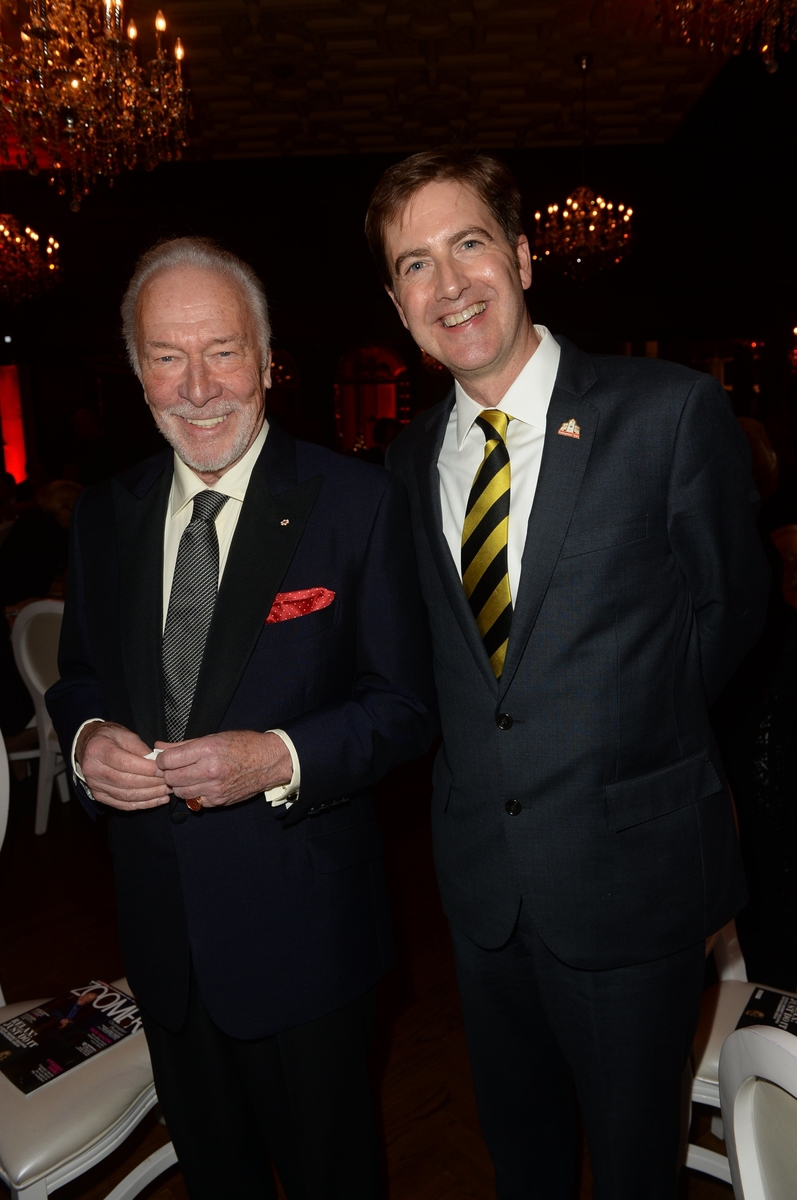 Christopher Plummer, Neil Constable, SG London.JPG