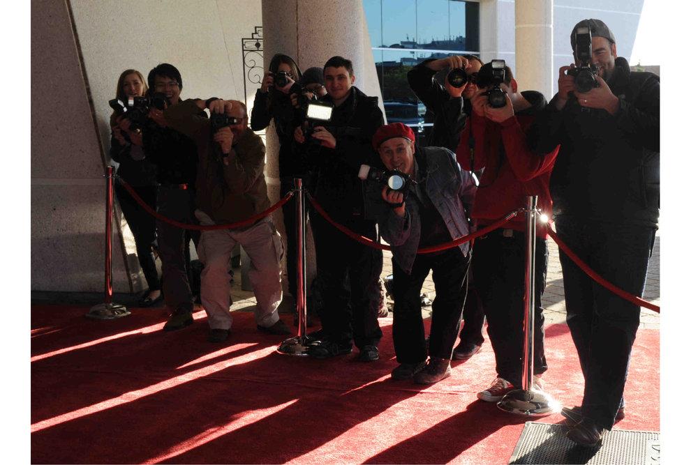Paparazzi on Red Carpet.JPG