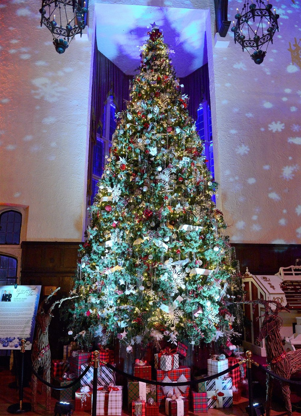 Casa Loma Holiday Launch Event, Great Hall