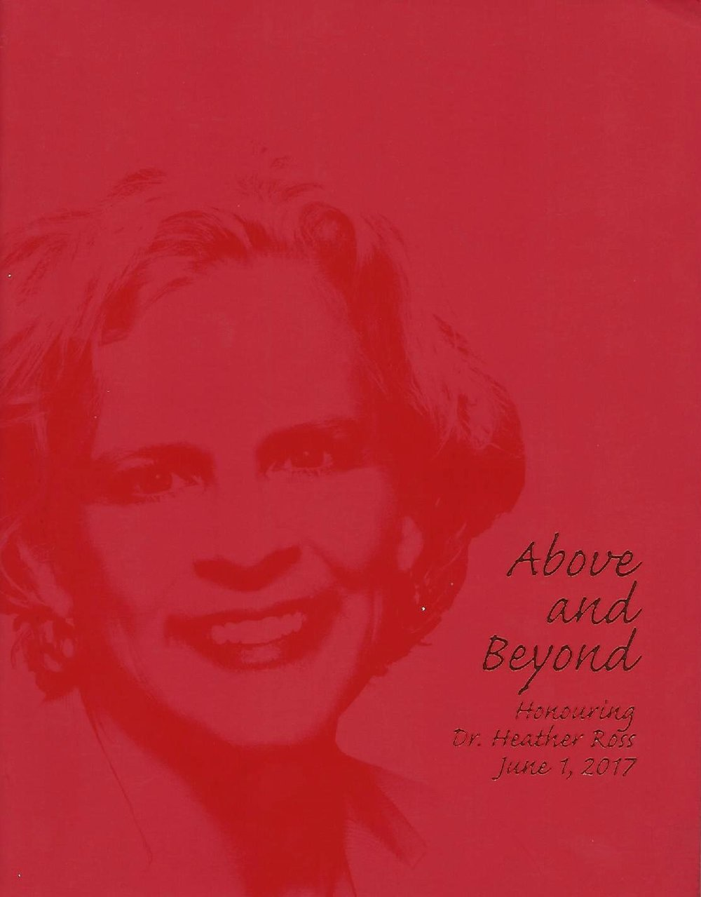 """Above and Beyond"", Toronto General Hospital Gala (44 pages)"