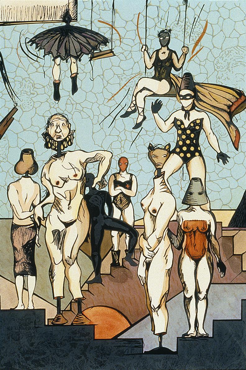 The Grand Circus of Female Flesh