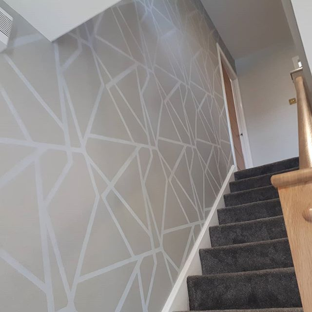 A few photos of recent wallpaper jobs  www.precisiondecor.co.uk  #wallpaper  #decorator  #decorating  #highquality