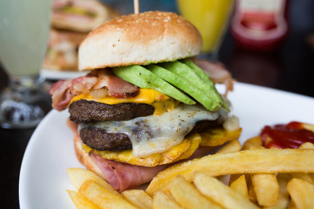 Floridita's Deluxe Burger