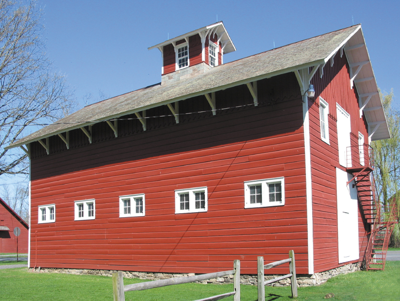 Victorian Horse Barn - A converted Victorian horse barn, is now home to an exhibit featuring various aspects of Greene County life. The famous model of the Catskill Mountain House occupies the entire center of this building