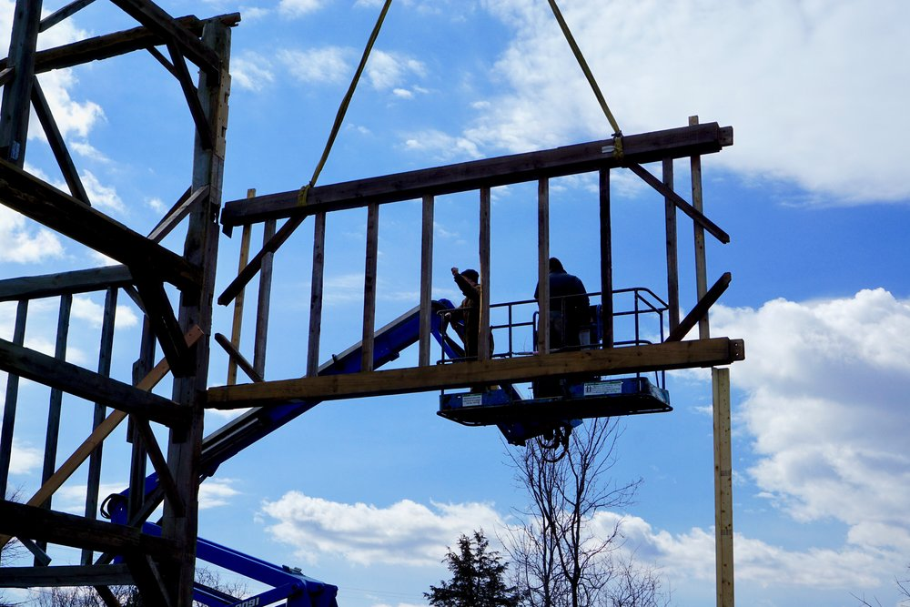 Raising the Frame Day Two (3/19/19) -