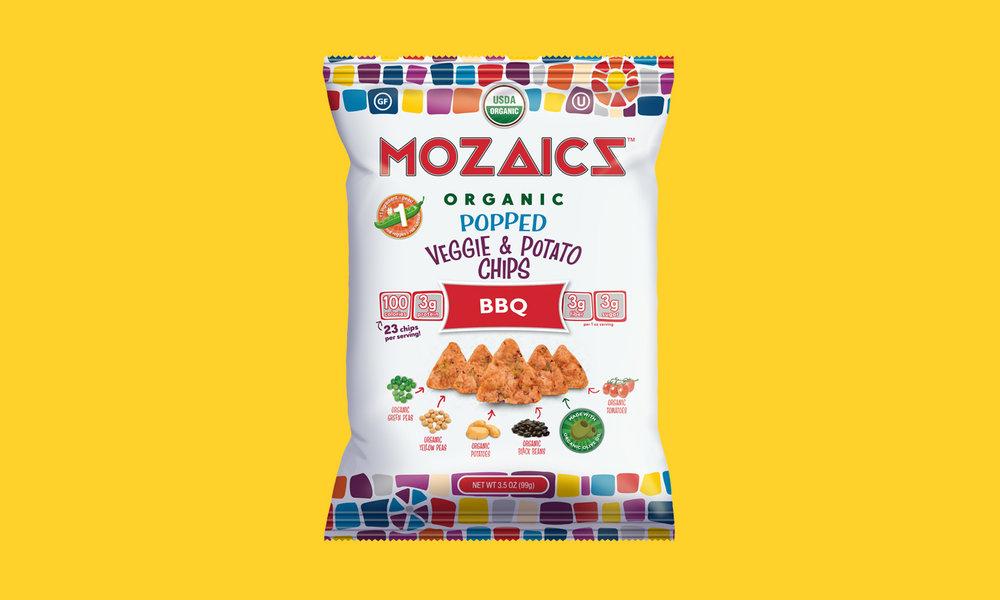 Mozaics Organic BBQ Chips