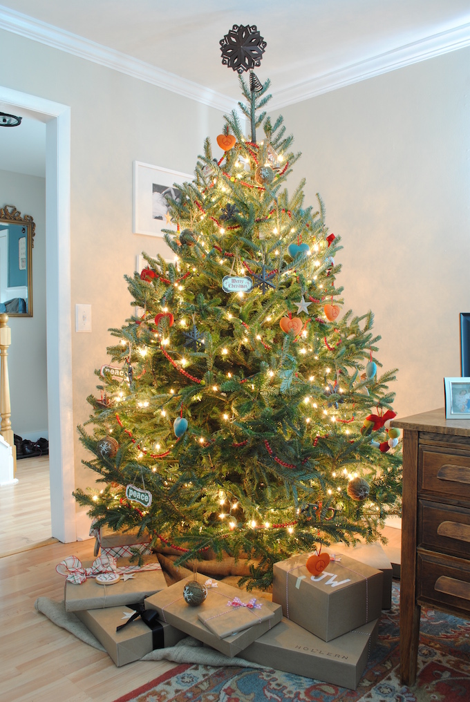 Your tree can still look great while not being 'designed'