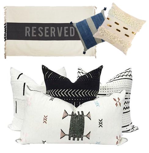 TEXTILES: Pillows, Rugs & More!