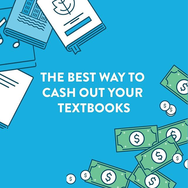 Cash out quick before you leave campus 📚 💰 Scan your books in the app now 👊🏻
