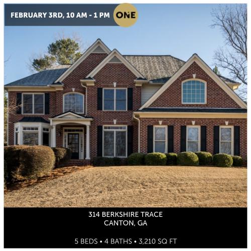 314 Berkshire Trce, Canton, GA 30115