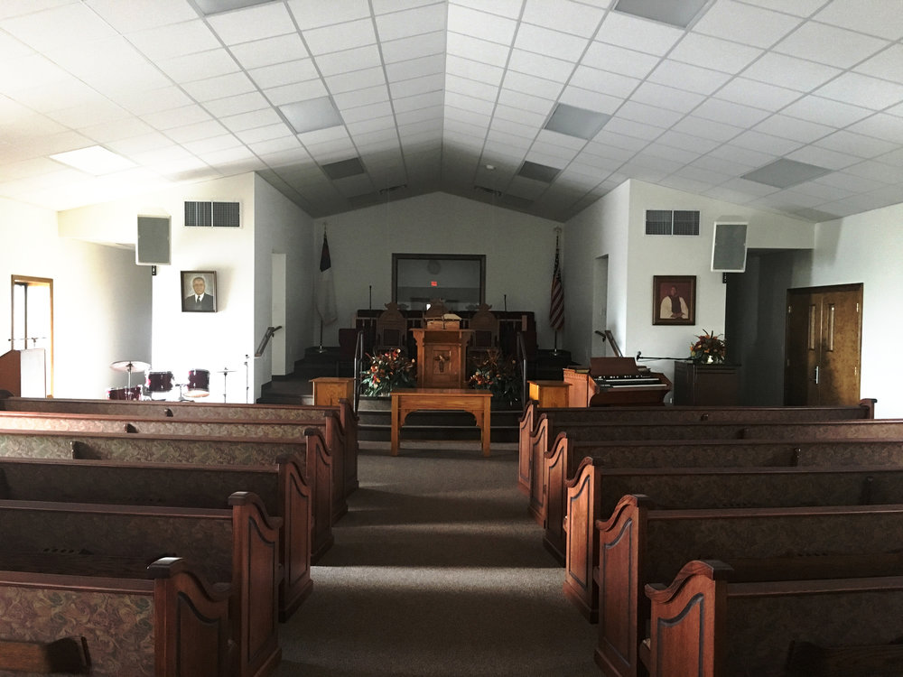 St. Luke Church congregation view