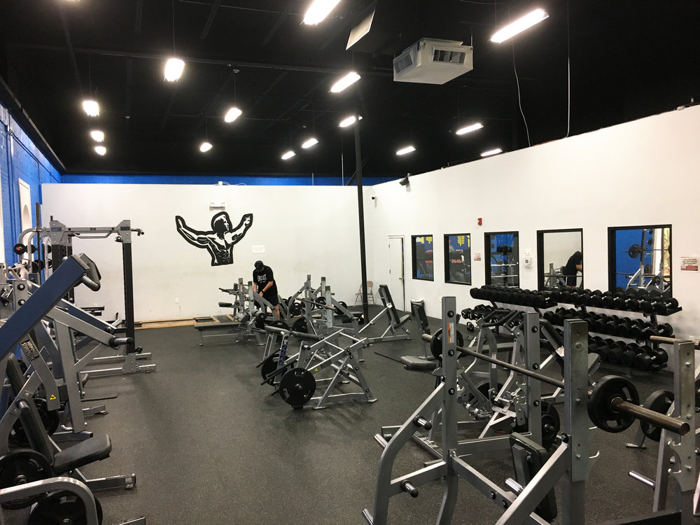 Powerhouse Gym weight room